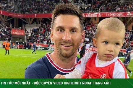 การกระทำที่อบอุ่นใจของเมสซี่ในการเปิดตัว PSG ของเขา: ถ่ายรูปกับลูกชายของฝ่ายตรงข้าม